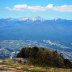 入笠山 ゴンドラ山頂駅よりの八ヶ岳